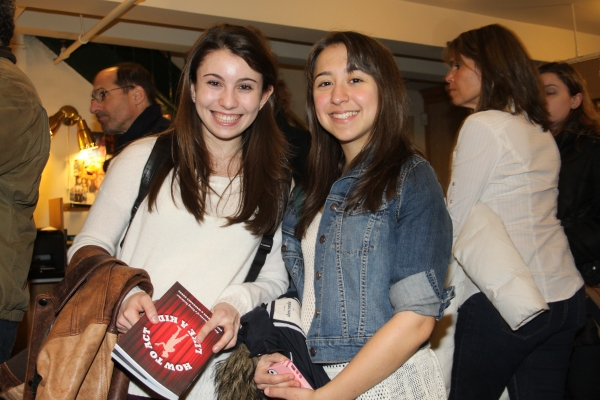 Nicole Bocchi and Sarah Rosenthal