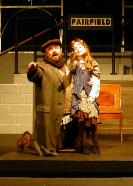 Tateh (Bradley Miller) and his Little Girl (Karen E. Kolkey)