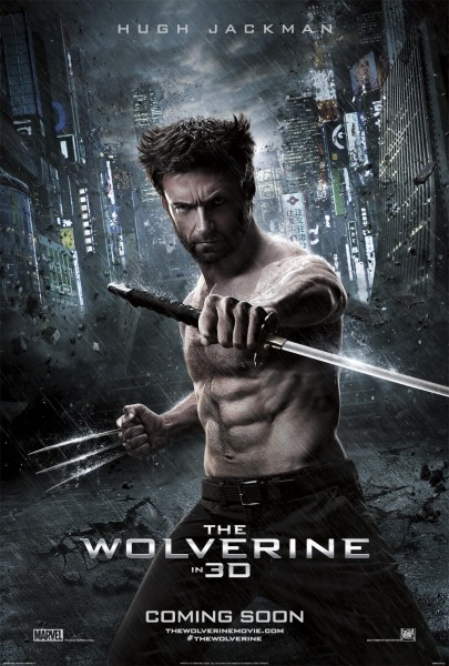 Hugh Jackman In New Poster For THE WOLVERINE