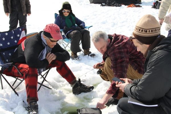 Photos: Mark Rylance and the Cast of the Guthrie's NICE FISH Go Ice Fishing