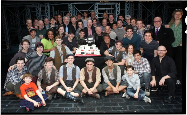 FREEZE FRAME: NEWSIES Celebrates One Year on Broadway!