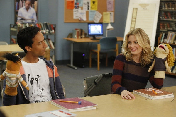Danny Pudi, Gillian Jacobs Photo