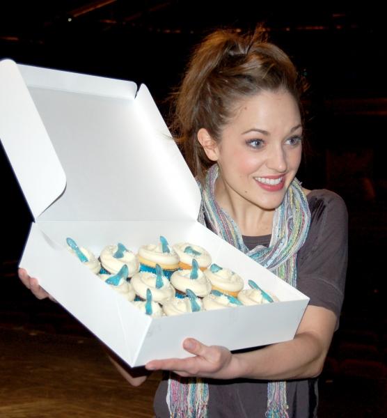 Photo Flash: CINDERELLA Gets Special Magnolia Cupcake!