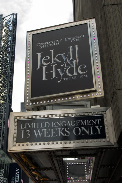 Up on the Marquee: JEKYLL & HYDE