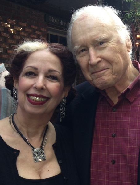Evelyn Rudie with George Coe