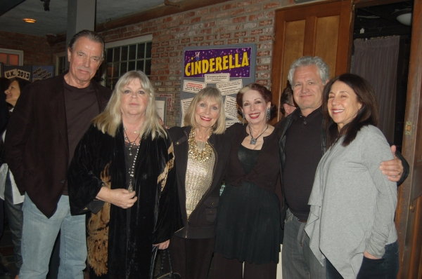 Eric & Dale Braeden, Marla Adams, Evelyn Rudie, Emmy-winning writers and producers of The Young and The Restless Sally Sussman and Tony Morina
