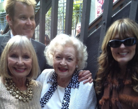 Marla Adams, Actress Betty White, Playwright Lisa Phillips Visca