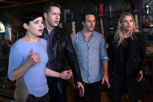 Ginnifer Goodwin, Josh Dallas, Michael Raymond-JAMES, Jennifer Morrison