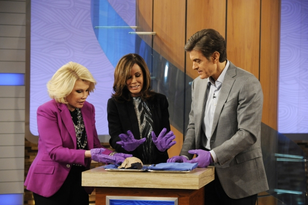Joan Rivers, Melissa Rivers, Dr. Oz