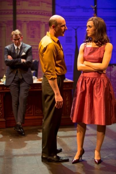 Douglas Sills, Jordan Lage, Christina Bennett Lind.