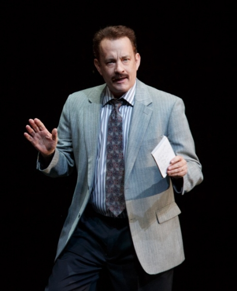 Lucky Guy Production Photo - Tom Hanks as Mike McAlary