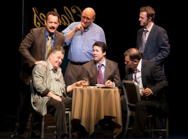 Photo Flash: First Look at Tom Hanks, Maura Tierney, Christopher McDonald and More in LUCKY GUY!