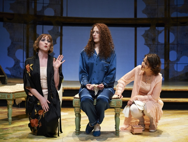 Maggie Kettering (left, as Margaret), Cassandra Bissell (center, as Beatrice) and Bet Photo