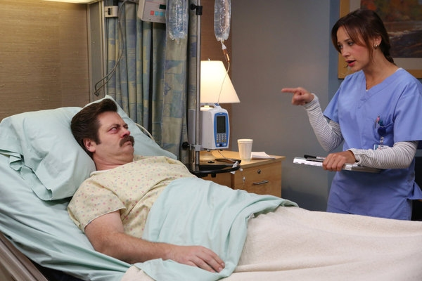 Nick Offerman, Rashida Jones