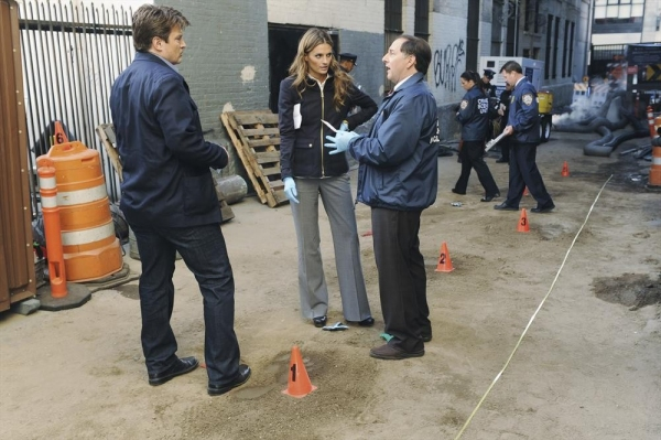 Nathan Fillion, Stana Katic, Arye Gross