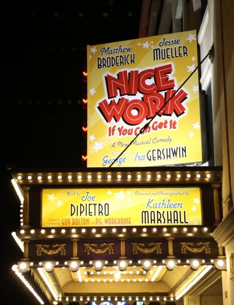Photo Coverage: NICE WORK Welcomes New Cast - Jessie Mueller, John Treacy Egan and Conrad John Schuck!