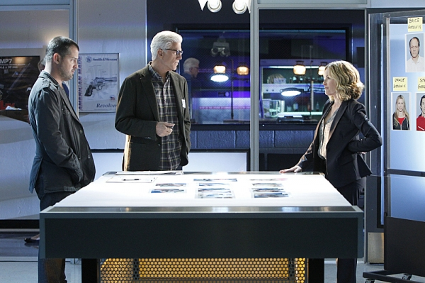 George Eads, Ted Danson, and Elisabeth Shue Photo