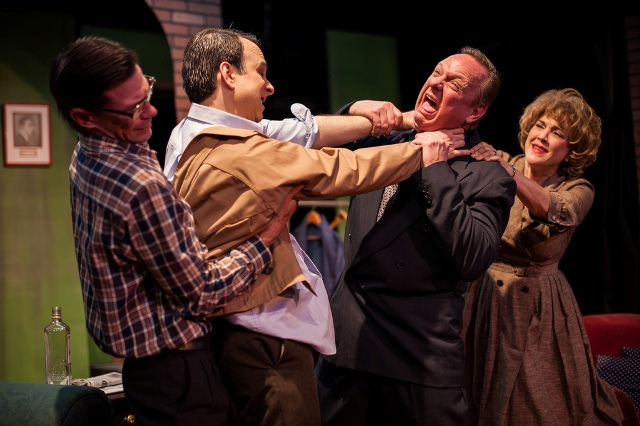 BWW Reviews: MOON OVER BUFFALO is High on Slapstick but Low on Laughs