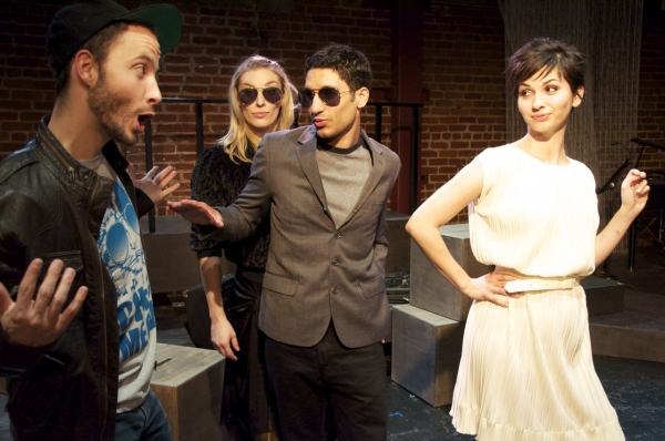 BWW Reviews: THE TROUBLE WITH WORDS Continues to Astound Audiences at the Lost Studio Through April 12