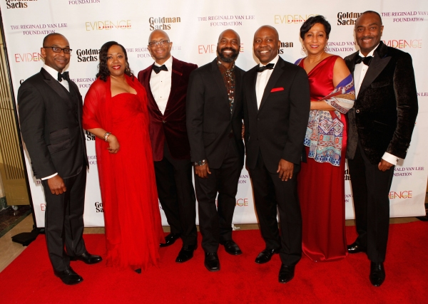 Evidence, A Dance Company board members Dwayne Ashley, Gail Monroe-Perry, Dr. Alvin Adell, Artistic Director Ronald K Brown, Larry Satterfield, Leslie Mays and Chairman Emeritus, of the board of the Evidence Dance Company a