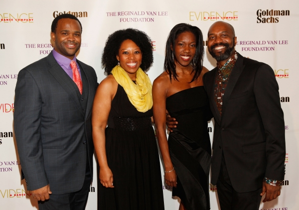Phumzile Sojola, Andrea Jones-Sojola, Lisa Nicole Wilkerson and Artistic Director Ronald K Brown