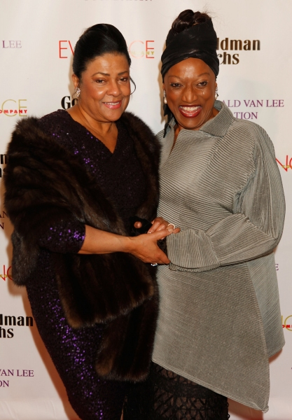 Kathleen Battle and Jessye Norman