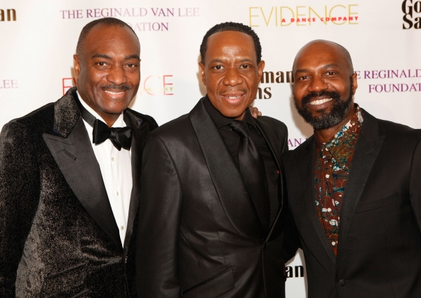 Chairman Emeritus, of the board of the Evidence Dance Company and Executive Vice President at Booz Allen Hamilton Reginald Van Lee, FrEddie Jackson and Artistic Director Ronald K Brown