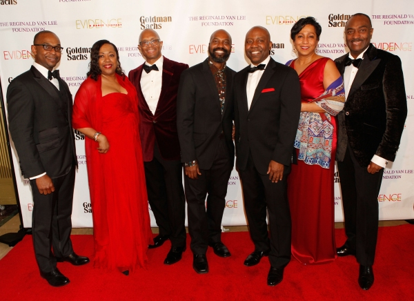 Dwayne Ashley, Gail Monroe-Perry, Dr. Alvin Adell, Artistic Director Ronald K Brown, Larry Satterfield, Leslie Mays