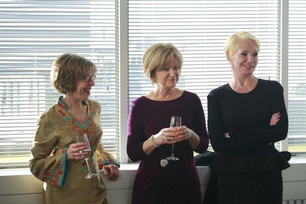 Jackie Hoffman, Mary Kay Place, Ellen Barkin Photo