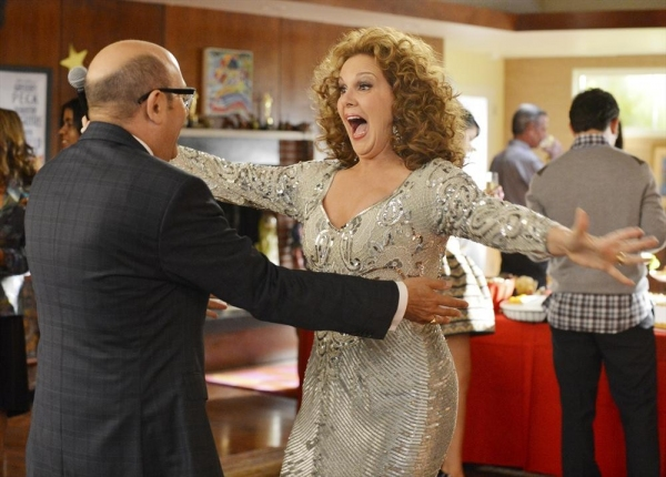 Willie Garson, Elizabeth Perkins