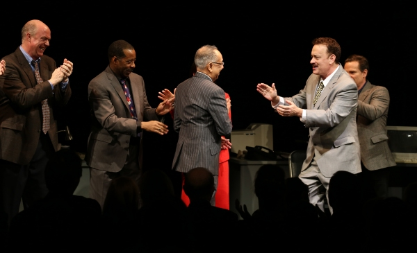 Photo Coverage: Opening Night Curtain Call for LUCKY GUY on Broadway - Tom Hanks & More!