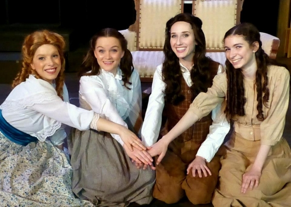 Photo Coverage: First Look at LITTLE WOMEN, THE BROADWAY MUSICAL, Opening at Stage52, 4/4