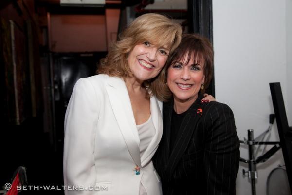 Karen Mason and Colleen Zenk