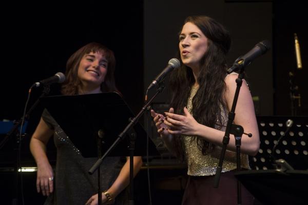 Rebecca Trehearn and Danielle Hope