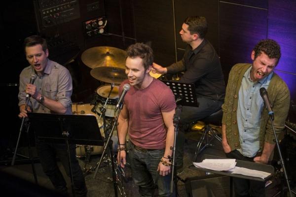 Sam Lupton, Michael Pickering and Andy Coxon