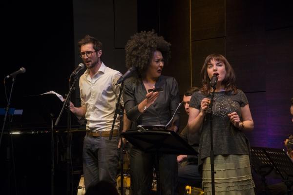 Tom Parsons, Olivia Phillip and Rebecca Trehearn