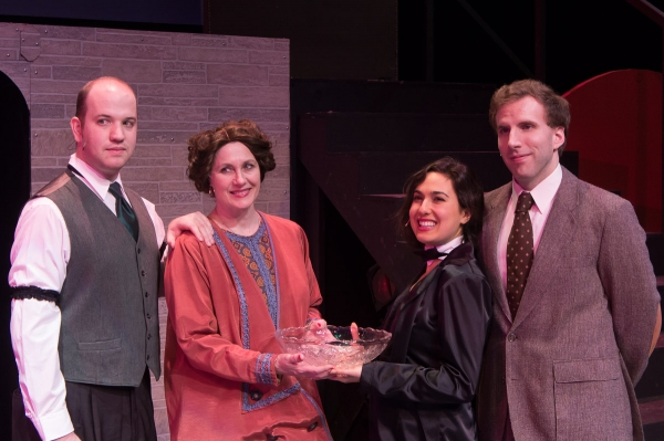 Photo Flash: First Look at Way Off Broadway's CABARET