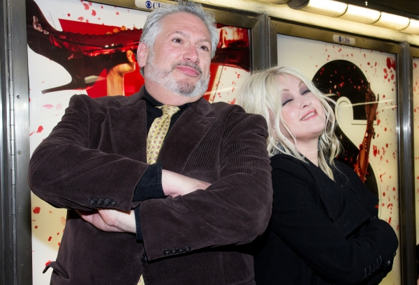 Photo Coverage: Cyndi Lauper & Harvey Fierstein Unveil NYC Subway Ads!
