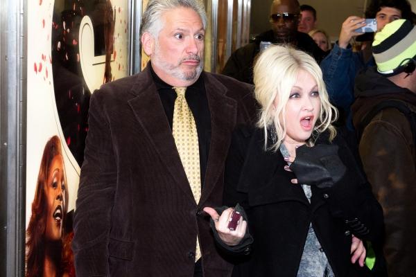 Photo Coverage: Cyndi Lauper & Harvey Fierstein Unveil NYC Subway Ads!