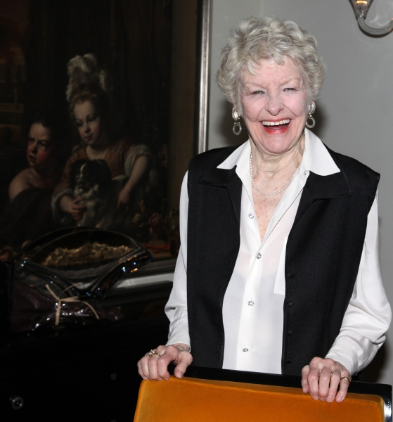 Photo Coverage: The Stars Come Out for Elaine Stritch's Farewell Cabaret - Movin' Over and Out