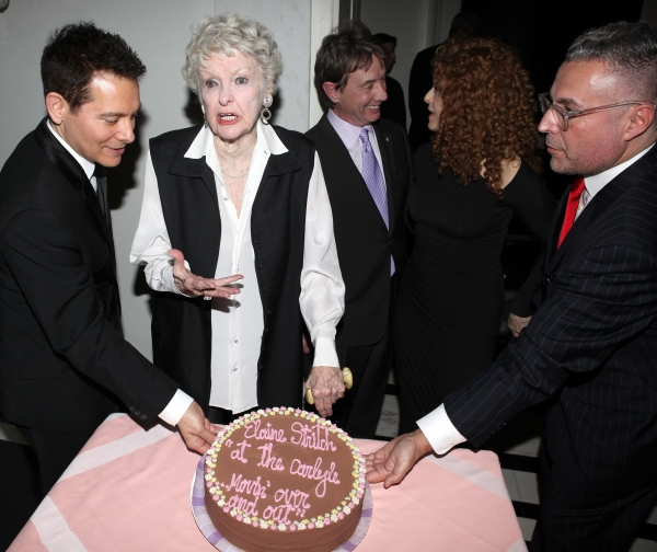Michael Feinstein, Martin Short, Elaine Stritch, Bernadette Peters & Rick Miramontez