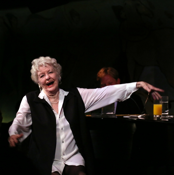 Photo Coverage: Elaine Stritch Gives Farewell Concert at Cafe Carlyle