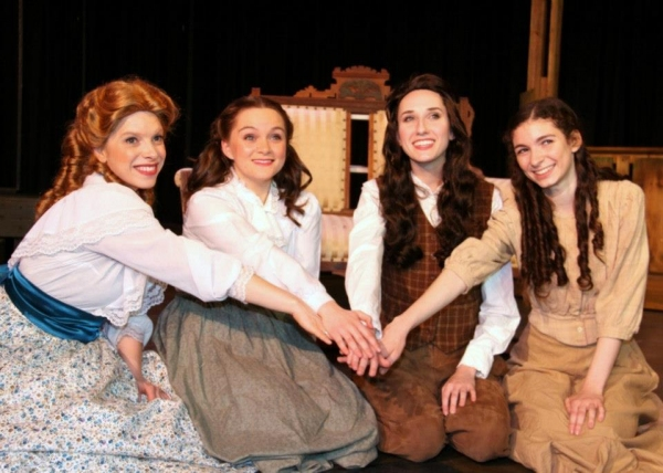 Photo Flash: First Look at Sustaining Sound Theatre's LITTLE WOMEN, THE BROADWAY MUSICAL