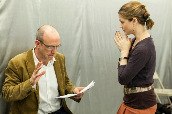 Photo Flash: In Rehearsal with the Cast of LOVE THERAPY