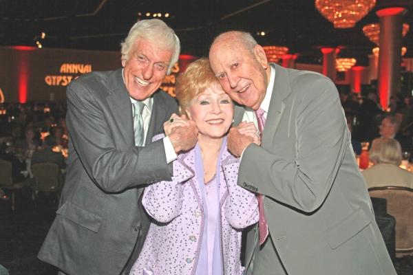 Dick Van Dyke, Debbie Reynolds and Carl Reiner