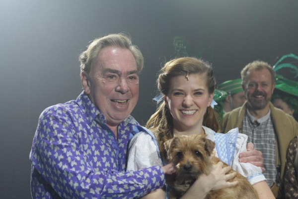 Lord Andrew Lloyd Webber and Danielle Wade