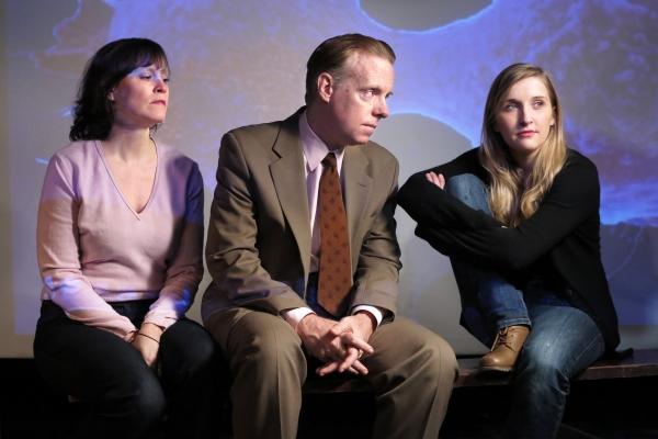 Sheri Graubert as Lyn, Hamilton Clancy as Andy and Samantha Slater as Samantha