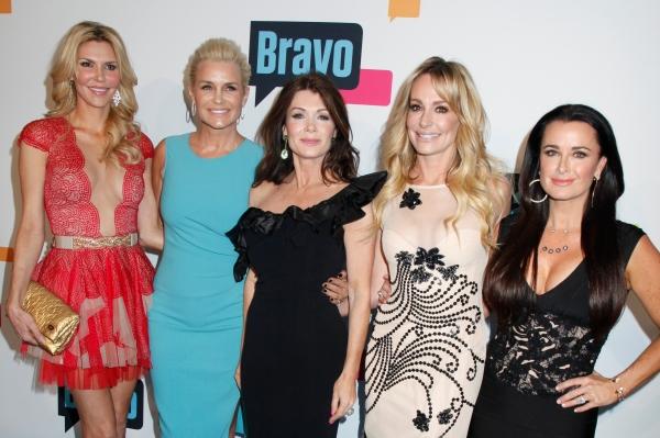 Brandi Glanville, Yolanda H. Foster, Lisa Vanderpump, Taylor Armstrong and Kyle Richards