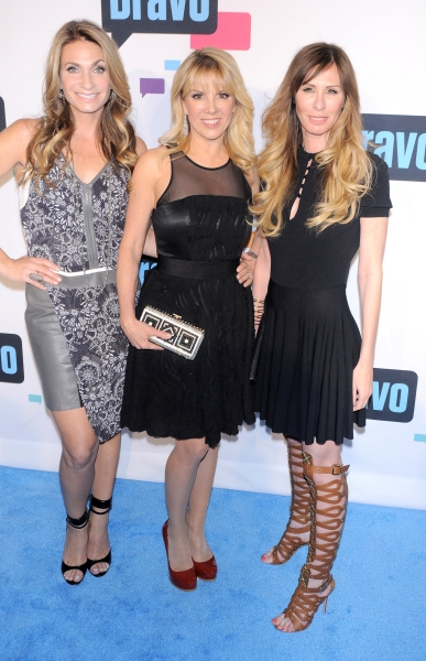 Ramona Singer, Heather Thomson and Carole Radziwill