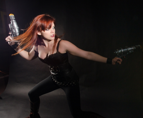 Photo Flash: Meet FIGHT GIRL BATTLE WORLD's 'E-V' at InFusion Theatre